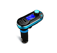 cheap -Wireless Hands-free Bluetooth Car Kit  FM Transmitter MP3 Player With Dual 2.1A USB Charging,Support USB/SD/Aux-in