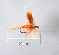"1pcs Hard Bait Orange 5 g/1/6 oz. Ounce,23 mm/1"" inch,Soft Plastic Bait Casting"