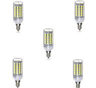 5w e14 led luces de maíz t 69 smd 5730 90-120lm blanco cálido blanco frío 2700-6500k decorativo ac 220-240v