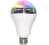 cheap -JIAWEN 5W 200-250 lm E26/E27 LED Smart Bulbs B 10 leds SMD 5730 Bluetooth WiFi Sound-Activated RGB AC 85-265V