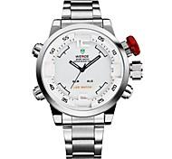 WEIDE Муж. Модные часы Нарядные часы Спортивные часы Кварцевый Японский кварц Будильник Календарь Секундомер Защита от влаги LED С двумя