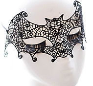 Lace Mask 1шт Праздничные украшения партии Маски Cool / Мода Один размер Черный Кружево