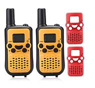 T899BR Радиотелефон 0.5W 8 Channels 400-470 мГц AAA alkaline battery 3 - 5 км VOX / LCD дисплей / Монитор / Сканер N/AДвусторонняя