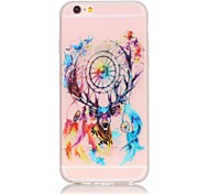 Dreamcatcher Pattern TPU Material Glow in the Dark Soft Phone Case for iPhone 7 7 Plus 6s 6 Plus SE 5s 5