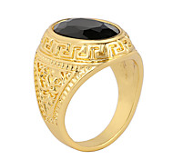 Women's Men's Alloy / Agate Ring Fashion Carve Patterns Party / Daily / Casual 1pc Statement Rings