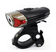 Налобные фонари Велосипедные фары Передняя фара для велосипеда - Велоспорт Водонепроницаемый Простота транспортировки солнечные батареи