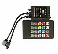 zdm® 20 Schlüssel 70w Infrarot-Musik LED-Controller für LED-RGB-Streifenlichter (DC12-24V)