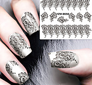 cheap -1 Water Transfer Sticker Lace Sticker Fashion Daily High Quality
