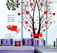 Недорогие -Натюрморт Наклейки Простые наклейки Декоративные наклейки на стены / Свадебные наклейки,PVC материал Съемная / Положение регулируется