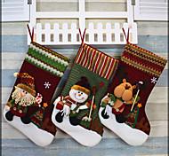 chaussettes de Noël fournitures bas de Noël le jour de Noël chaussettes de noël ornements chaussettes noël