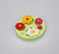 Красивые формы ромашки силиконовые формы торт цветок с пищевой силиконовый материал цвет случайный
