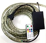 4m / 1pcs eu plugconnect ir 19key Controller 220-240 führte rgb wasserdichte Lampe Gürtel 5050 Band Gartenlicht RGB-Licht