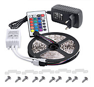 cheap -KWB Light Sets 300 LEDs RGB Remote Control / RC Cuttable Dimmable Waterproof Color-Changing Self-adhesive Suitable for Vehicles Linkable