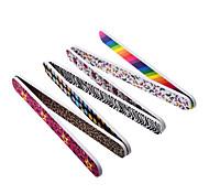 10шт / комплект профессионального искусства буферы пилка наждачной бумагой для маникюра натуральных ногтей