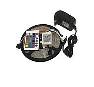 KWB 3528 LED RGB полосы света 300leds 24key источник питания ИК пульт дистанционного управления идеально подходит для всех видов стилей