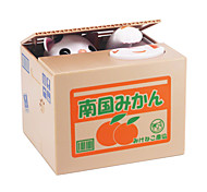 Itazura Coin Bank Storage Cat panda Stealing Money Safety Box Saving Money Coin Novelty Toys