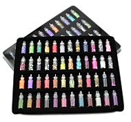 cheap -48 Bottles Nail Art Charms Kit Contain Random Nail Art Pearl/sequin/Glitter Powder/Acrylic/Rhinestone and So on