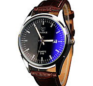 cheap -YAZOLE® Men's Quartz Casual Fashion Watch Personality Simple Noctilucence Round Dial Watch Cool Watch Unique Watch