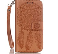 abordables -Para Funda iPhone 7 / Funda iPhone 7 Plus / Funda iPhone 6 Soporte de Coche / En Relieve / Diseños Funda Cuerpo Entero Funda Atrapasueños