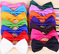 Cat Dog Tie/Bow Tie Dog Clothes Cosplay Birthday Holiday Wedding Christmas Bowknot Rose Red Green Pink Light Blue Costume For Pets