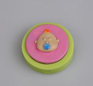 вспомогательное оборудование младенца сосок пустышка сок бутылка конфеты силиконовая прессформа для торта украшая цвет случайный