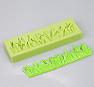 Недорогие -трава форма силиконовой формы торт украшения набор выпечки шоколад ramdon цвет