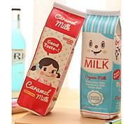 cheap -Milk Carton Design Textile Pen Bag