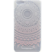 For Wiko Lenny 2 Lenny 3 Pink Sunflower Pattern High Permeability TPU Material Phone Shell for Pulp Fab 4G