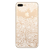 For iPhone X iPhone 8 iPhone 8 Plus iPhone 7 iPhone 6 iPhone 5 Case Case Cover Ultra-thin Transparent Pattern Back Cover Case Playing