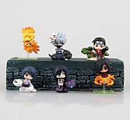 baratos -Fantasias Hokage PVC 6cm Figuras de Ação Anime modelo Brinquedos boneca Toy