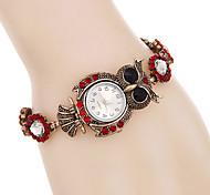 Women Watches Fashion Crystal Owl Bracelet Watch Quartz Digital Watch Relogio Feminino Strap Watch