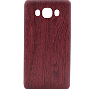 for Samsung Galaxy J1 J3 Wood Pattern PU Skinning Soft Phone Case for Samsung Galaxy J1 J3 J5 J7 J510 J710 G360 G530