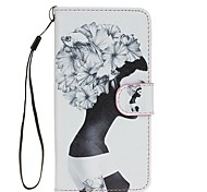 For Samsung Galaxy S7 S7 Edge Side Face PU Leather Wallet S5 S6