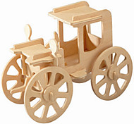 cheap -Wooden Puzzles Model Building Kit Vintage Car Professional Level Wood 1pcs Kid's Girls' Boys' Gift