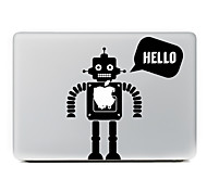 cheap -Robot Decorative Skin Sticker for MacBook Air/Pro/Pro with Retina