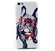 cheap -Happy Glasses Dog Pattern Hard Cover for iPhone 6 iPhone Cases