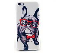счастливые очки собака шаблон жесткий чехол на мобильный 6