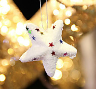 Недорогие -6шт горячий стиль продукт рождества рождества Бурлящий шарик звезда красивые рождественские украшения необходимые аксессуары