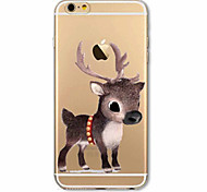 Case For Apple iPhone X iPhone 8 Plus iPhone 7 iPhone 6 iPhone 5 Case Ultra-thin Pattern Back Cover Christmas Soft TPU for iPhone X