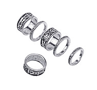 Ring Non Stone Halloween / Party / Daily / Casual Jewelry Alloy Women / Men Midi Rings 1set,One Size Gold