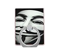 маска шаблон пластиковый держатель кольца / 360 вращающийся для мобильного телефона iphone 8 7 samsung galaxy s8 s7