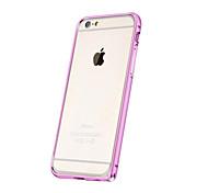 Недорогие -алюминиевого сплава бампер чехол для Iphone 6с 6 плюс