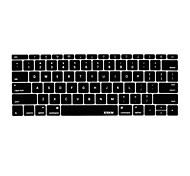 xskn copertura della pelle della tastiera di lingua inglese in silicone per MacBook 12 '' noi versione