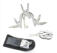 cheap -6-In-1 multitools mini Folding Pliers Stainless Steel Crimping tool Survival Camping PDR Multi tools Cable Wire Stripper Crimper 1PC