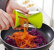Недорогие -кухня филярный многофункциональный резки проволоки устройство спиральный конус вращающийся клочка 7 * 13см