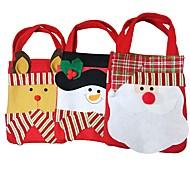 Chrismas моды стиль Санта-Клаус конфеты подарочные пакеты сумки сумка сумка настоящее Новогоднее украшение подарок 2pc 2016