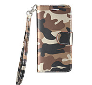 For Samsung Galaxy S6 S7 Case Cover Mobile phone Holster Camouflage pattern