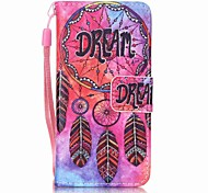 Dream Catcher Painting PU Phone Case for apple iTouch 5 6 iPod Cases/Covers