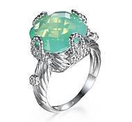 Women's Ring AAA Cubic Zirconia European Fashion Zircon Jewelry For Party Daily