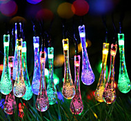 Super Size Galaxy Christmas Droplets Light String Of Colored Lights 2 Meter 20 Head Battery Box Of Lamps 2.3Meter
